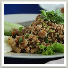 Salade de boeuf haché (ลาบเนื้อ- Laab Neua)