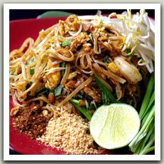 Nouilles sautées à la Thaï (ผัดไทย - Pad Thaï)