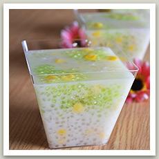 Perles de tapioca au coco ( สาคุเปียก - Sakou Piak)